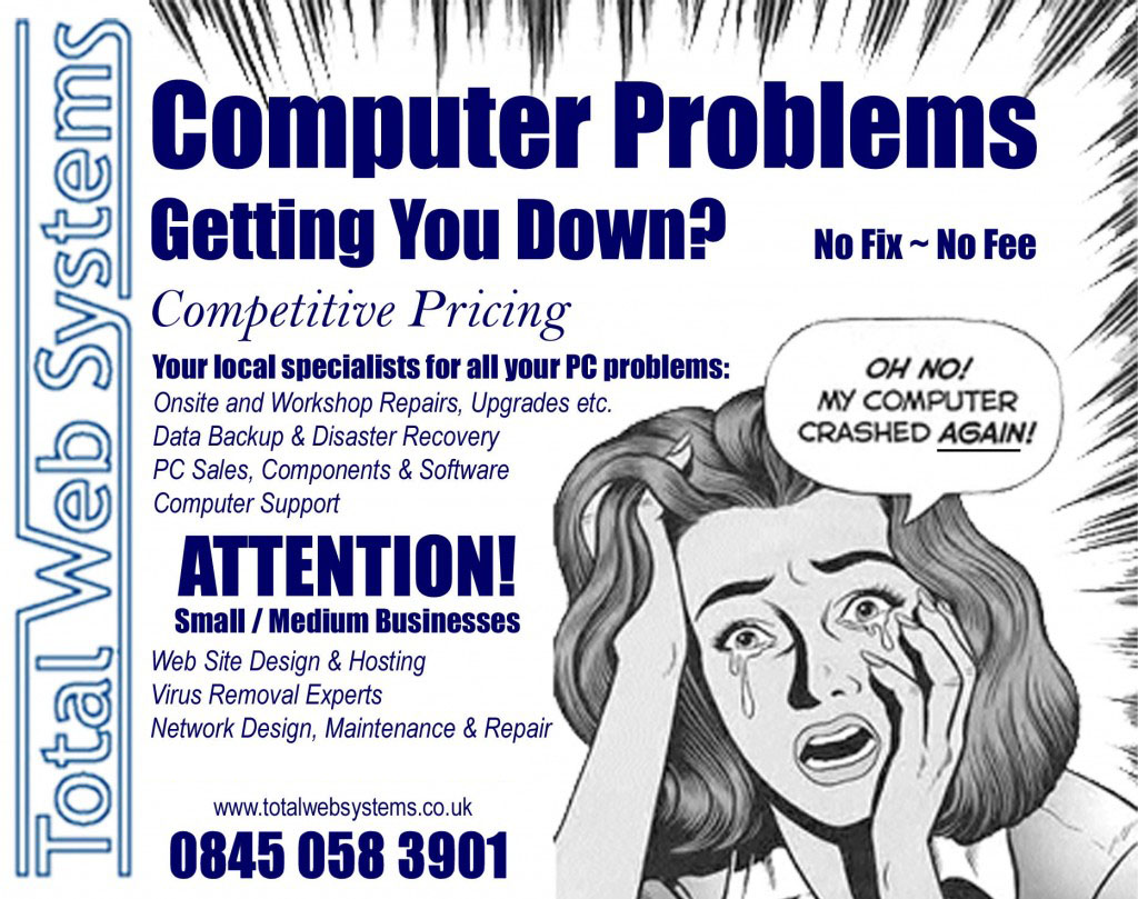 Computer Problems Getting You Down?