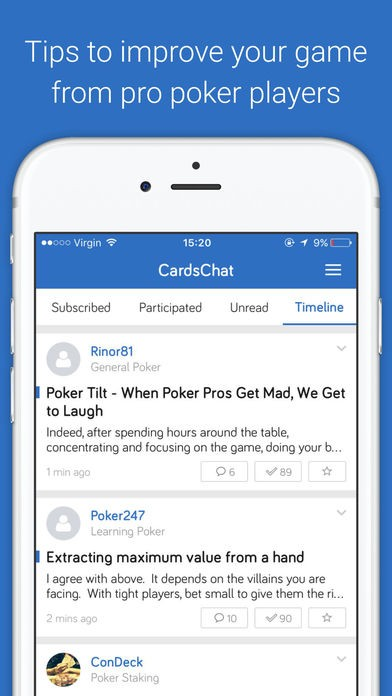Poker stats app iphone
